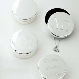 Personalized Pin Box